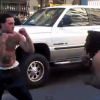 These Guys Start Fighting In The Street & It Ends Really Bad. Wow!