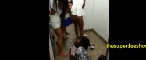 Worst Girl Fight EVER. Girl gets her clothes ripped right off.